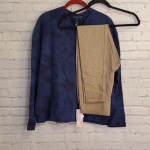 Universal Thread Blue Pullover Medium #Q028